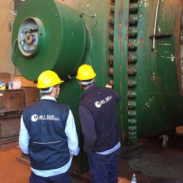 Revisione valvola rotativa DN 1600 presso la Centrale idroelettrica A2A